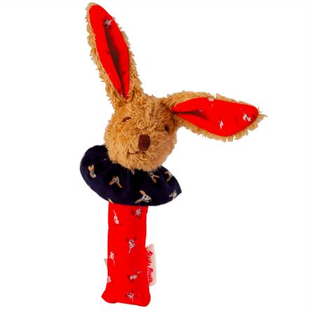 德國百年品牌Käthe Kruse-Bunny小紅兔手拿玩偶