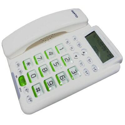 【純米小舖】SANYO三洋來電顯示有線電話TEL-011~優惠免運