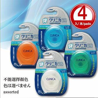 【Made in Japan】LION Japan 獅王 Clinica Dental Sponge Floss 40m *4 rolls