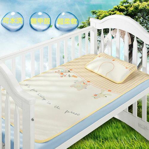 潘朵拉綠色生活概念館:【親親寶貝】頂級精品3D蜂巢天然冰絲嬰兒床涼蓆嬰兒床墊涼席冰涼墊_夏天給寶寶最好的呵護(附專利定型枕頭)