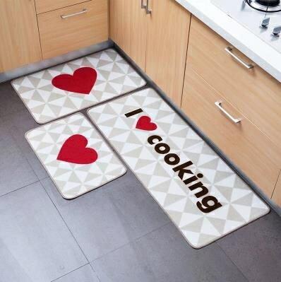 廚房地毯  居家家 客廳門口進門地墊門廳玄關門墊 廚房吸水腳墊臥室床邊地毯 【618特惠】