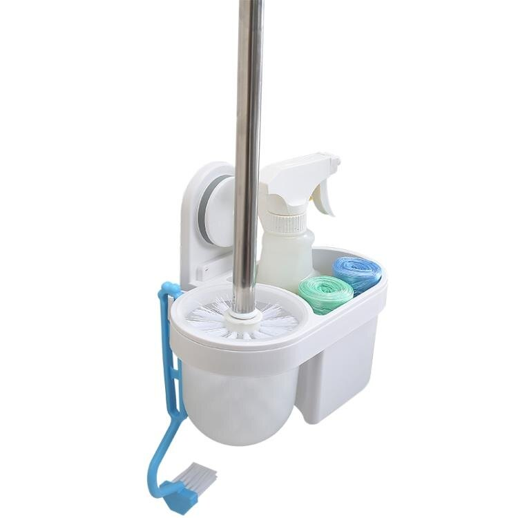 馬桶刷套裝免打孔創意刷子無死角潔廁廁所刷架壁掛 兒童節新品