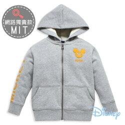 Disney 帥氣米奇貼布休閒連帽外套