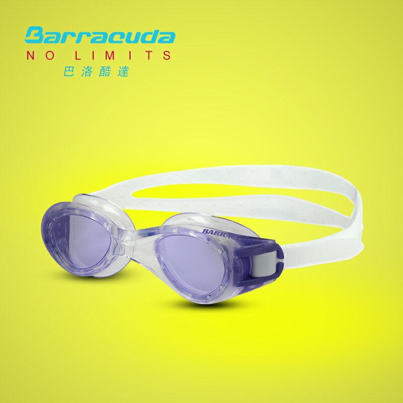 美國巴洛酷達Barracuda6-12歲青少年專業訓練系列抗UV防霧泳鏡-TITANIUM JR#30920 0