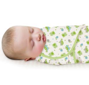 美國Summer Infant 聰明懶人純棉睡袋包巾-快樂池塘【悅兒園婦幼生活館】