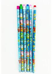 X射線【C913523】波力POLI木頭鉛筆(6入),文具/開學用品/筆/書寫工具/鉛筆/羅伊/安寶
