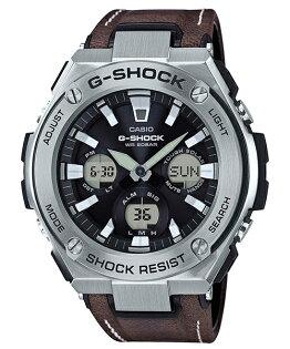 CASIOG-SHOCKGST-S130L-1A炫黑絕對強悍雙顯腕錶52.4mm