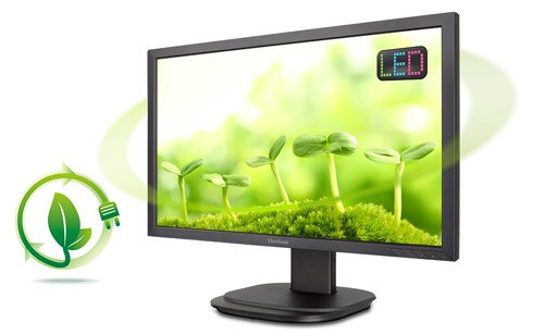 ViewSonic VG2439SMH  24吋 Full HD 人體工學LED顯示器 340度水平旋轉,90度垂直翻轉,及-5 ~ 25度的俯仰角調整