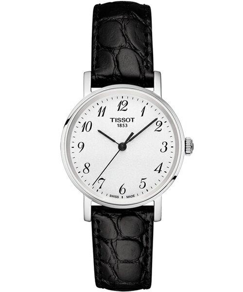 TISSOT天梭錶T1092101603200 極簡時尚淑女腕錶/白面30mm