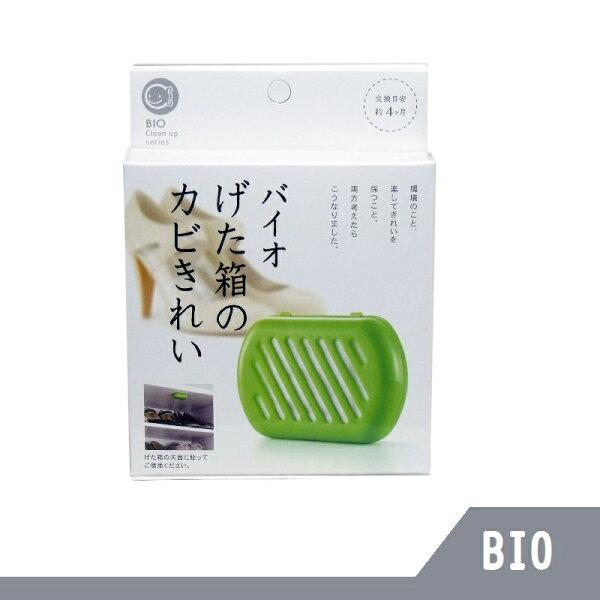日本BIO除臭防霉盒貼片(鞋櫃專用)日本製【RHshop】日本代購