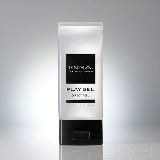 【伊莉婷】日本 TENGA PLAY GEL-DIRECT FEEL 鮮明觸感型潤滑液-黑 150ml TPG-103