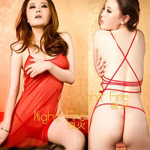 【伊莉婷】夜火 Night Fire 紅色嫁衣性感短裙 2294