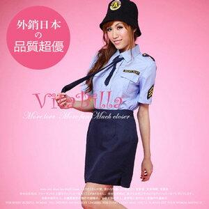 【伊莉婷】VitaBilla 超辣女警 角色制服 四件組 A000050628