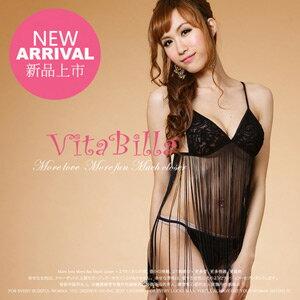 【伊莉婷】VitaBilla 性感維納斯 睡裙+小褲 二件組 A003520614 0