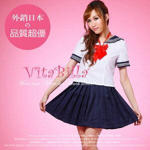 【伊莉婷】VitaBilla 浪漫學院 角色制服 三件組 A007610632 水手服 學生制服