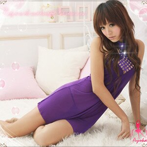 【伊莉婷】香艷欲滴!柔紗二件式睡襯衣 A020346 - 限時優惠好康折扣