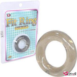 【伊莉婷】日本 MODE FitRing 猛男環 透明黑 DM-9122420