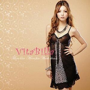 【伊莉婷】VitaBilla 誘惑公主 LUCKMATE 野蠻公主 睡裙+小褲 二件組 G000620009 0