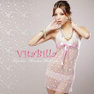 【伊莉婷】VitaBilla 浪漫點點 睡裙+小褲 二件組 G002510013 0