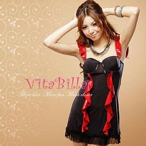 【伊莉婷】VitaBilla 激情動人 睡裙+小褲 二件組 G004620003