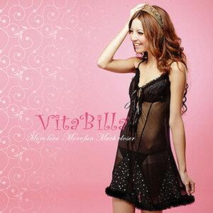 ~伊莉婷~VitaBilla 絕美麗人 LUCKMATE 燦爛時刻 睡裙 小褲 二件組 G