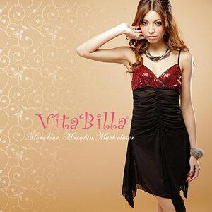 【伊莉婷】VitaBilla 熱夜情人 LUCKMATE 魅力四射 睡裙+小褲 二件組 G009820006