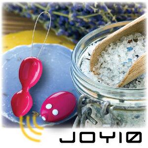 【伊莉婷】英國ABC Feeling JOY N'MORE JOY10 卓湜 私處鍛鍊+刺激二合一 遙控震動凱格爾訓練球 JN-65014