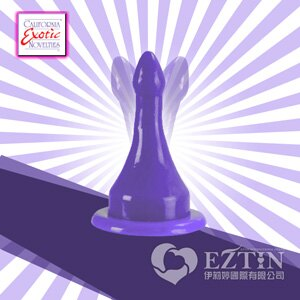【伊莉婷】美國 CEN Sassy Bendi Arrow 雙箭 強力吸盤 彈性柔軟 後庭肛塞 紫色 SE-0416-60-2