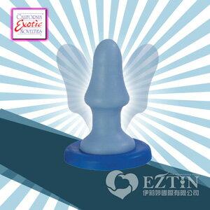 【伊莉婷】美國 CEN Sassy Bendi Pacifier 強力吸盤 彈性柔軟 後庭肛塞 藍色 SE-0416-75-2