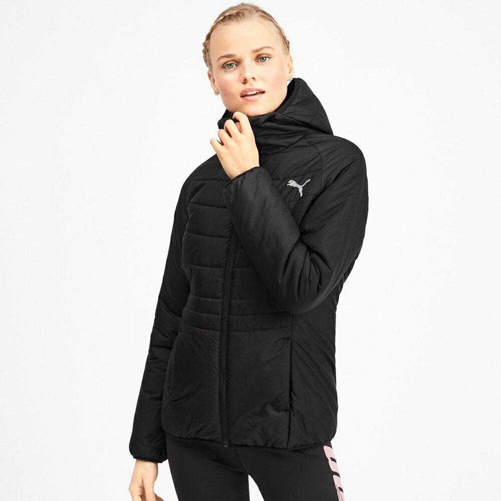 PUMA WarmCell 女裝 外套 連帽 休閒 防風 防水 鋪棉 保暖 黑【運動世界】58003901