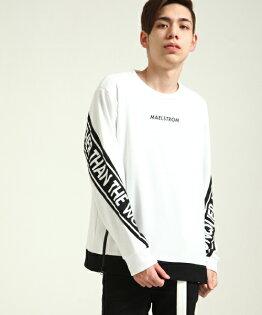 長袖運動衫WHITE