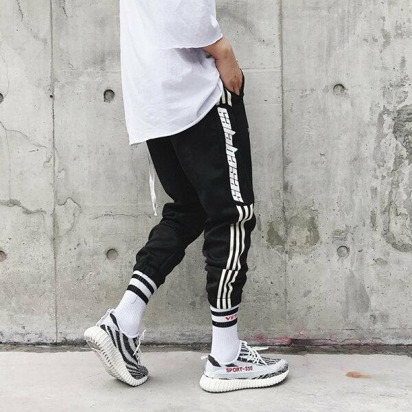 FINDSENSEG6韓國時尚男運動褲休閒褲街頭嘻哈寬鬆長褲