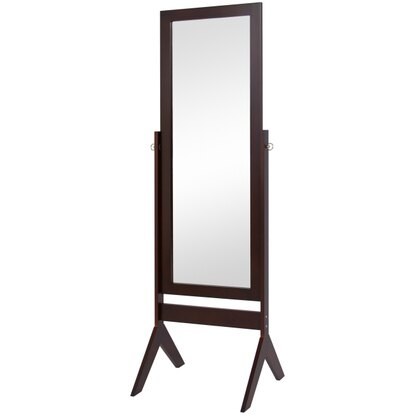 Best Choice Products Cheval Floor Mirror (Espresso Brown)