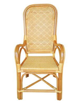【台南關廟】   雙護腰老人椅一般型 /  教師藤椅 / 手工藤椅 2
