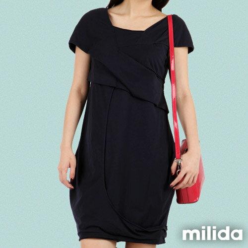 【Milida,全店七折免運】-春夏商品-造型款-甜美花苞洋裝 1