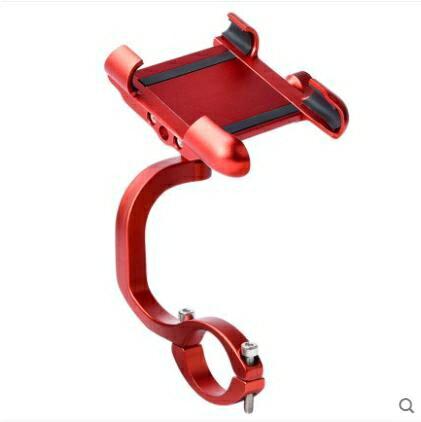 機車手機架 電動機車手機架電瓶自行車外賣騎手車載機車騎行固定機導航支架