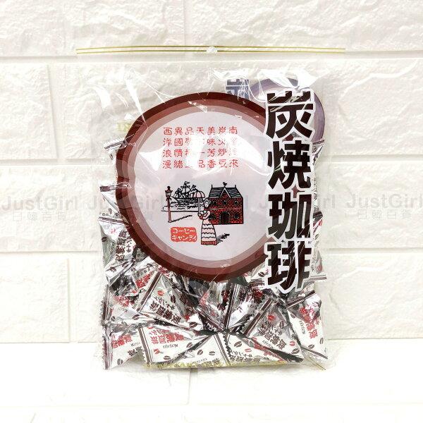 春日井咖啡糖炭燒咖啡糖27小包食品日本製造進口JustGirl