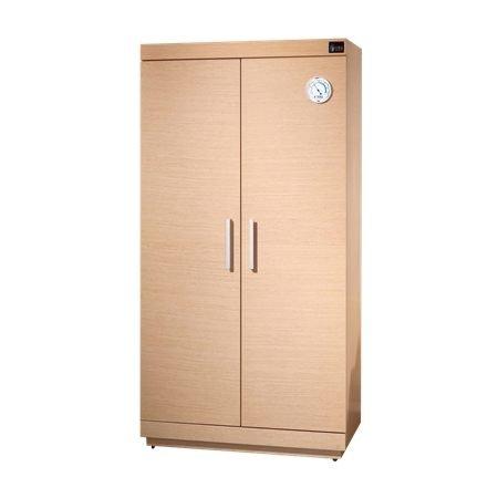 【新風尚潮流】防潮家 480L 精品木質電子防潮箱 白橡木/胡桃木 SH-540