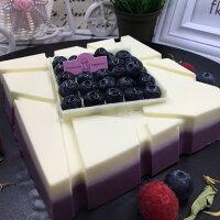 彌月禮盒推薦部落客美食、團購、彌月、生日禮首選、藍莓乳酪★《新鮮藍莓乳酪蛋糕》【聖托里尼】約7吋,重量600g★全館滿499免運