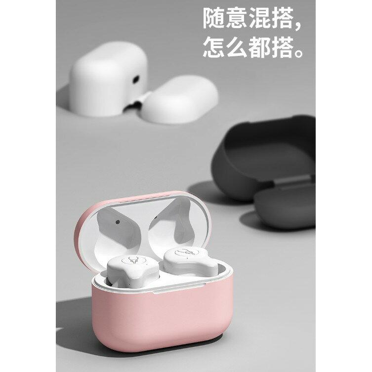 魔宴E12 X12 pro專用保護套 無線藍牙耳機充電倉矽膠套  防塵 女生 可愛 充電盒 液態矽膠盒 2
