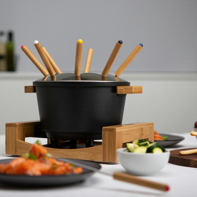 【PRINCESS】荷蘭公主 陶瓷料理鍋 / 黑 173026 (加贈油炸籃.調味罐.計時器) 4