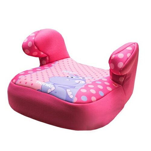 法國 NANIA納尼亞 安全座椅輔助墊 (河馬粉)