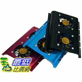 [有現貨馬上寄] 鋁合金 3.5吋 雙風扇 硬碟散熱器 幫助硬碟散熱 顏色隨機出 (23039_L403)