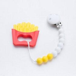 【全面降9折】台灣【Sweet Little Monster 】咬咬珠薯條寶寶固齒器