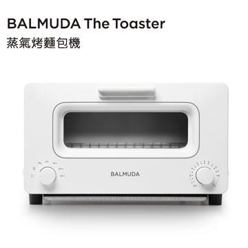 ★官網註冊送麵包刀 BALMUDA The Toaster 蒸氣烤麵包機 K01D-WS (白) 百慕達 烤土司神器 公司貨 K01J