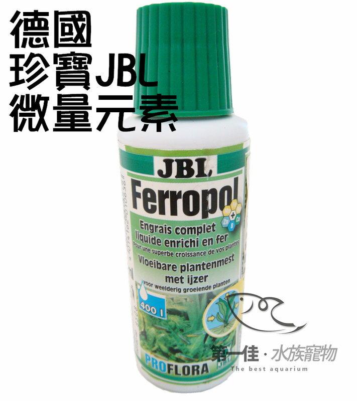 [第一佳 水族寵物]德國珍寶JBL水草微量元素添加劑 [100ml]水草缸必備