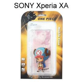 海賊王透明軟殼 [人物] 喬巴 SONY Xperia XA F3115 (5吋)航海王【正版授權】