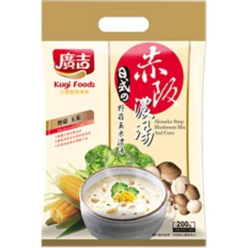 《廣吉》赤阪濃湯-野菇玉米口味 (10包/袋)