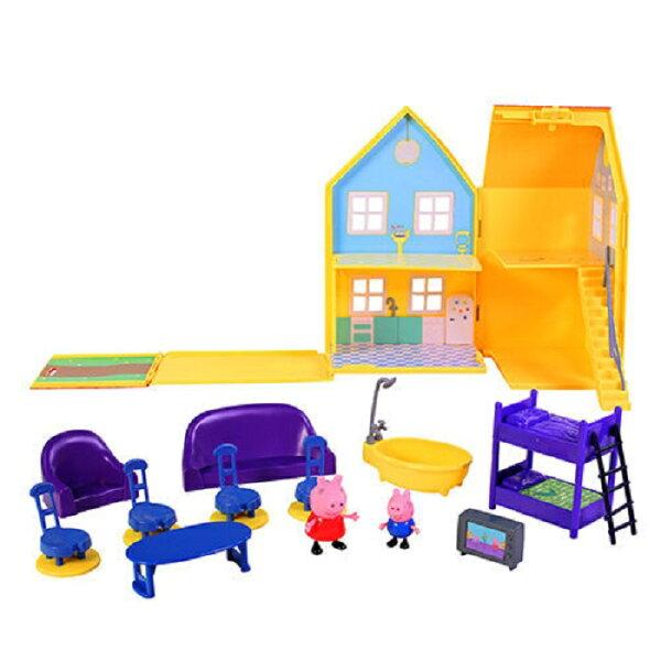 粉紅豬小妹豪華房屋組【鯊玩具ToyShark】