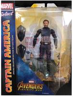 美國隊長 玩具與電玩推薦到(卡司 正版現貨)Marvel Select 7吋 美國隊長 Captain 復仇者聯盟 終局之戰 可動 比6吋大就在卡司玩具推薦美國隊長 玩具與電玩